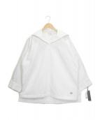 k3&co.(ケースリーアンドコー)の古着「セーラーブラウス」 ホワイト