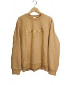 Supreme×LACOSTE(シュプリーム × ラコステ)の古着「Crewneck Sweatshirt」|ベージュ