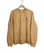 Supreme×LACOSTE(シュプリーム×ラコステ)の古着「Crewneck Sweatshirt」|ベージュ