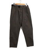 Graphpaper(グラフペーパー)の古着「Stretch Typewriter Cook Pants」 ブラウン
