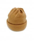 Edwina Horl(エドウィナ ホール)の古着「ニット帽」|ブラウン