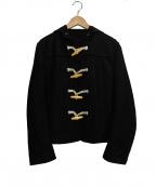 tricot COMME des GARCONS(トリココムデギャルソン)の古着「ショートダッフルコート」 ブラック