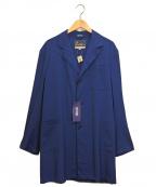 Fraizzoli(フライツォーリ)の古着「アトリエコート」|ブルー