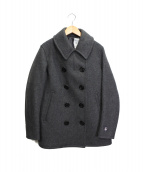 ORCIVAL(オーシバル)の古着「メルトンダブルPコート」|グレー