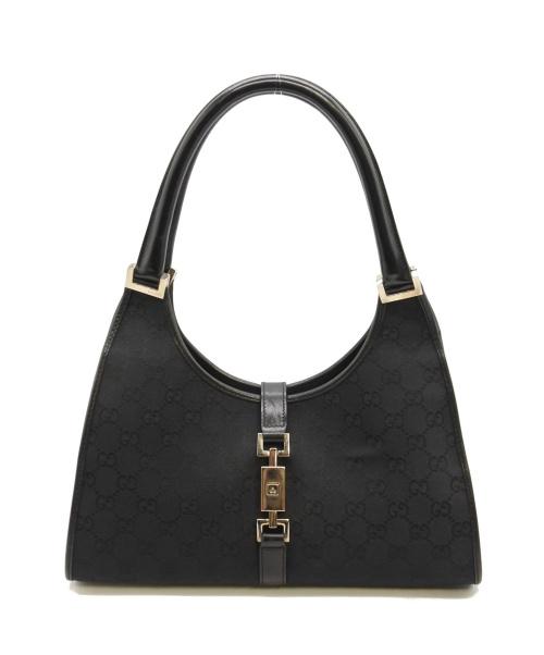 GUCCI(グッチ)GUCCI (グッチ) ハンドバッグ ブラック サイズ:下記参照 ジャッキーの古着・服飾アイテム