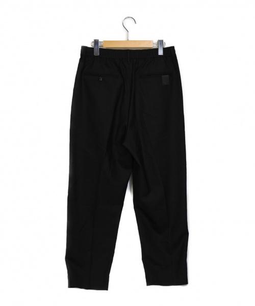 N.HOOLYWOOD(ミスターハリウッド)N.HOOLYWOOD (ミスターハリウッド) ワイドテーパードイージースラックス ブラック サイズ:36 20ss WIDE TAPERD EASY SLACKSの古着・服飾アイテム