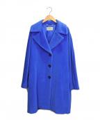 MARELLA(マレーラ)の古着「アルパカ/ウールコート」|ブルー