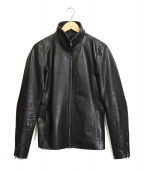 wjk(ダブルジェイケイ)の古着「レザージャケット」 ブラック