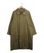 JOURNAL STANDARD(ジャーナルスタンダード)の古着「Finx Cotton バルマカン コート」|オリーブ