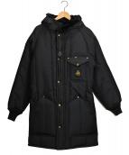Refrigiwear(リフリッジウェア)の古着「中綿コート」|ブラック