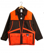 dans hunting gear(ダンズハンティングギア)の古着「ハンティングジャケット」 ブラウン×オレンジ