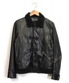 UNDERCOVERISM(アンダーカバイズム)の古着「レザージャケット」 ブラック