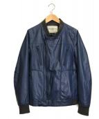 UNDERCOVERISM(アンダーカバイズム)の古着「レザージャケット」 ブルー