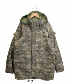 US ARMY(ユーエスアーミー)の古着「デジカモマウンテンパーカー」|グレー