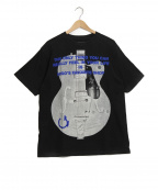 GOOD ENOUGH(グッドイナフ)の古着「【古着】ギターTシャツ」 ブラック