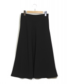 MUSE de Deuxieme Classe(ミューズデドゥーズィエムクラス)の古着「フレアスカート」|ブラック