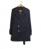 BLACK LABEL CRESTBRIDGE()の古着「ライナー付トレンチコート」 ネイビー