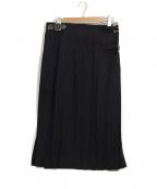 COMME des GARCONS HommePlus(コムデギャルソンオムプリュス)の古着「ラップスカート」|ネイビー