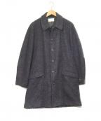 TROVE(トローブ)の古着「PILVI COAT コート」|ネイビー