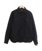 A.P.C.(アーペーセー)の古着「シャツジャケット」|ブラック