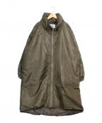 garage of good clothing(ガレージオブグッドクロージング)の古着「中綿コート」|オリーブ