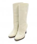 MARNI()の古着「ミドルブーツ」|ホワイト