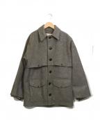 FILSON GARMENT(フィルソンガーメント)の古着「【古着】70sダブルマッキーノクルーザーコート」 グレー