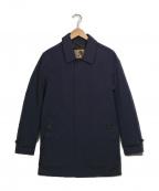 Sealup()の古着「ステンカラーコート」|ネイビー