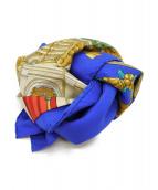HERMES(エルメス)の古着「カレ90」|ブルー