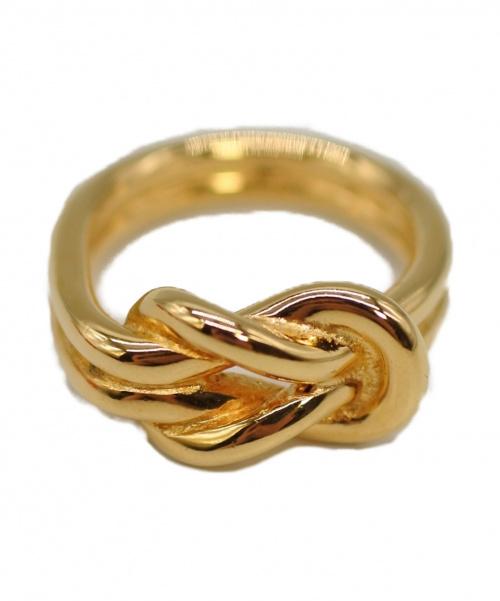 HERMES(エルメス)HERMES (エルメス) スカーフリング ゴールド サイズ:下記参照の古着・服飾アイテム