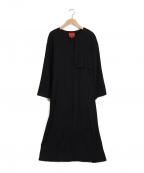 Sybilla(シビラ)の古着「ノーカラーコート」 ブラック