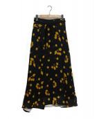 3.1 phillip lim(スリーワンフィリップリム)の古着「チェリー柄スカート」|ネイビー