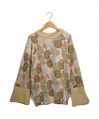 ISABEL MARANT(イザベルマラン)の古着「袖リブ切替ニット」|ベージュ