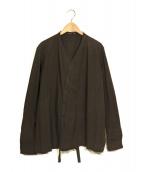 ()の古着「Belted Shirt/ベルテット シャツ」 ブラック