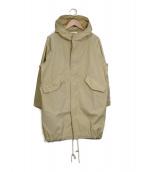 LE GLAZIK(ル・グラジック)の古着「モッズコート」|ベージュ