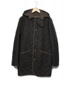 MACKINTOSH(マッキントッシュ)の古着「ウールキルティングコート」|ブラウン