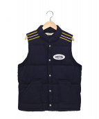 TENDERLOIN(テンダーロイン)の古着「中綿ベスト」|ネイビー