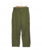 British Army(ブリティッシュアーミー)の古着「【古着】90'sライトウェイトファティーグパンツ」|オリーブ