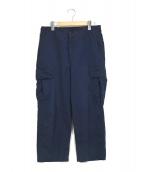Porter Classic(ポータークラシック)の古着「カーゴパンツ」|ブルー