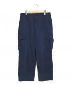 Porter Classic()の古着「カーゴパンツ」 ブルー