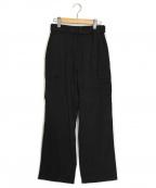 KUMIKYOKU(クミキョク)の古着「リラックス カーゴパンツ」|ブラック
