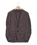 TOMORROW LAND PILGRIM(トゥモローランド ピルグリム)の古着「サマーツイード2ジャケット」|ネイビー