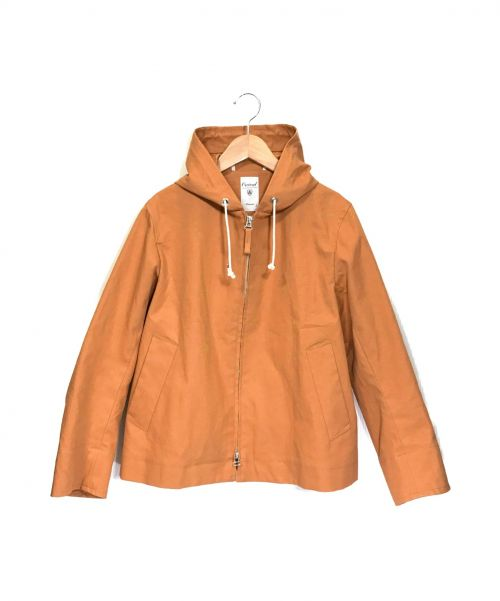 ORCIVAL(オーシバル)ORCIVAL (オーシバル) ZIPフードジャケット オレンジ サイズ:1の古着・服飾アイテム
