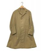 British Army(ブリティッシュアーミー)の古着「【古着】Change Button Work Coat」|ブラウン