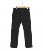 RALPH LAUREN BlackLabel(ラルフローレンブラックレーベル)の古着「スキニーパンツ」|ブラック