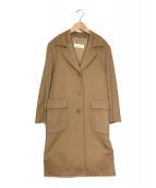MaxMara(マックスマーラ)の古着「カシミヤチェスターコート」|ベージュ