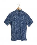 reyn spooner(レイン スプナー)の古着「アロハシャツ」 ブルー