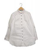 BURBERRY LONDON(バーバリーロンドン)の古着「ロングスリーブシャツ」|ホワイト