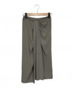 Whim Gazette(ウィムガゼット)の古着「デザインスカート」 カーキ