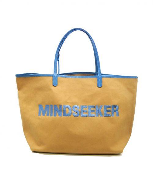 MINDSEEKER(マインドシーカー)MINDSEEKER (マインドシーカー) トートバッグ ベージュの古着・服飾アイテム